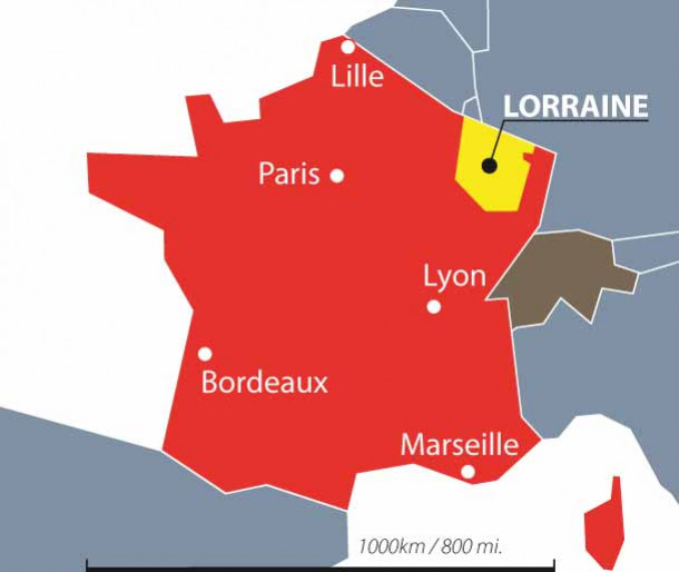 Lorraine: Where else?